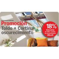 Promoción Cortina + Toldo 18 % aplicado