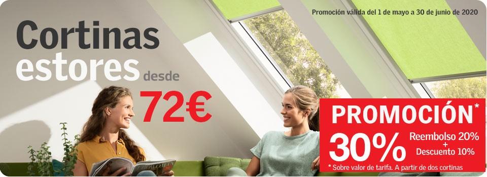 Promoción cortinas 20% reembolso